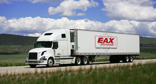 EAX Shipping Truck